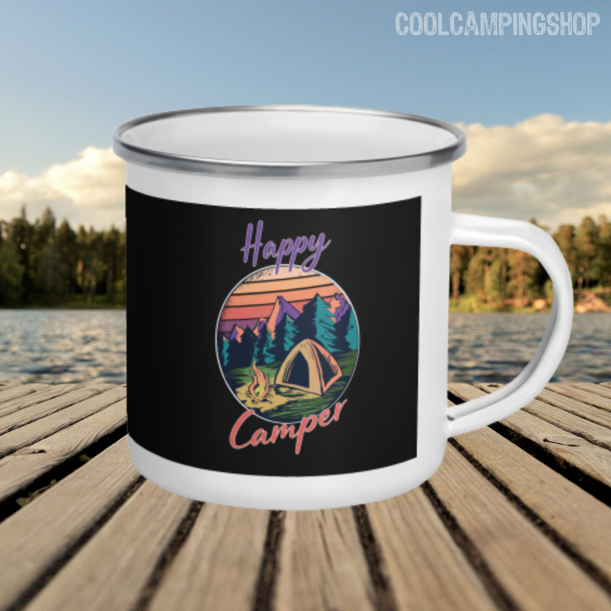 Happy Camper Cool Camping Camperbekleidung